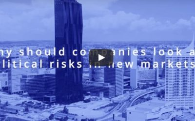Why should companies look at political risks in new markets?
